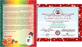 santa letter nice list combo - snowman gifts design