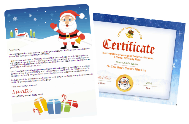 Santa letter and nice list combo gifts design with santa seal santa letter and nice list combo gifts design with santa seal certificate other files patterns and templates spiritdancerdesigns Choice Image