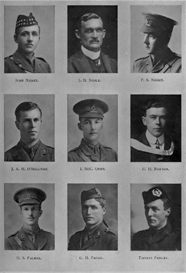 edinburgh university roll of honour 1914-1919 plate 64