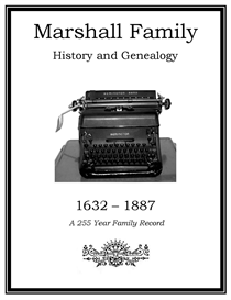 Marshall Family History and Genealogy | eBooks | History