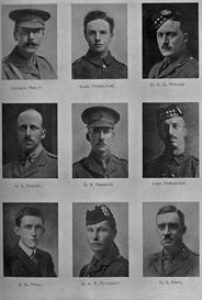 edinburgh university roll of honour 1914-1919 plate 66