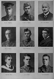edinburgh university roll of honour 1914-1919 plate 67