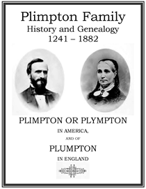 Plimpton Family History and Genealogy | eBooks | History