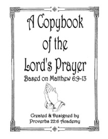A Copybook of the Lord's Prayer | eBooks | Education