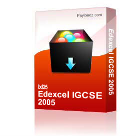 edexcel igcse mathematics 2005