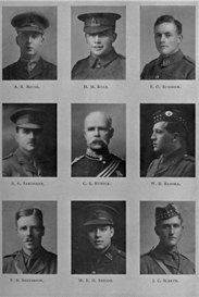 edinburgh university roll of honour 1914-1919 plate 72