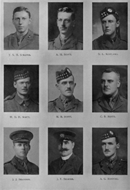 Edinburgh University Roll Of Honour 1914-1919 Plate 73 | Other Files | Photography and Images
