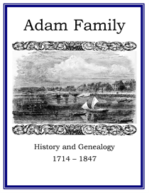 adam family history and genealogy