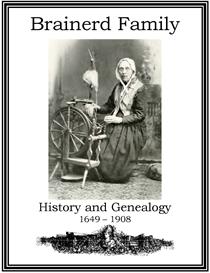 Brainerd Family History and Genealogy | eBooks | History