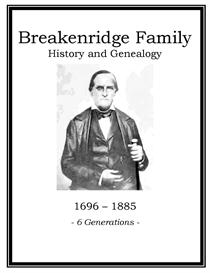 Breakenridge Family History and Genealogy | eBooks | History