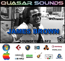 James Brown Kit - Soundfonts Sf2 | Music | Soundbanks