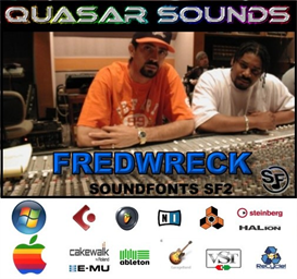 fredwreck kit - soundfonts sf2