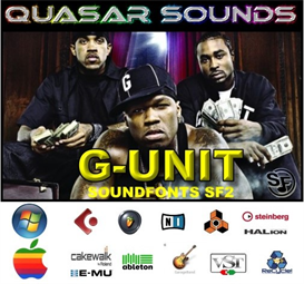 g-unit kit - soundfonts sf2