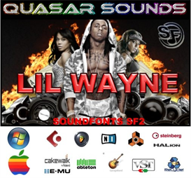 lil wayne kit - soundfonts sf2