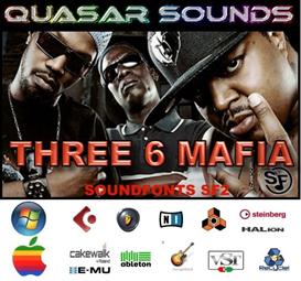 three 6 mafia kit - soundfonts sf2