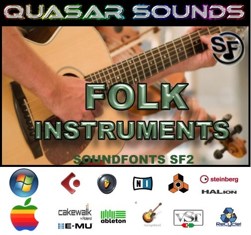 Folk Music Instruments - Soundfonts Sf2