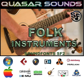folk music instruments - soundfonts sf2