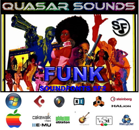 funk music instruments - soundfonts sf2