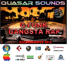 g-funk & gangsta rap - soundfonts sf2