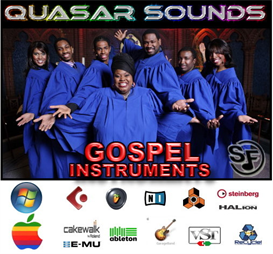 gospel music instruments - soundfonts sf2