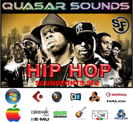 hip hop - soundfonts sf2