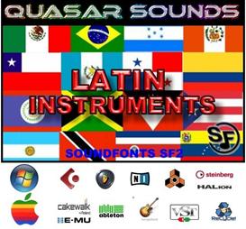 Latin Music Instruments - Soundfonts Sf2 | Music | Soundbanks