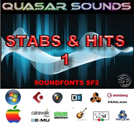 stabs & hits kit vol 1 - soundfonts sf2