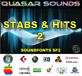 stabs & hits kit vol 2 - soundfonts sf2