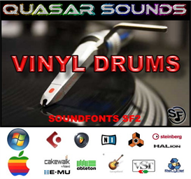 vinyl drum kit - soundfonts sf2