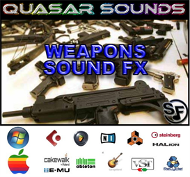 weapon fx sounds - soundfonts sf2