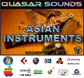 asian instruments - soundfonts sf2