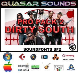 Dirty South Massive Pro Pack 2 - Soundfonts Sf2 | Music | Rap and Hip-Hop