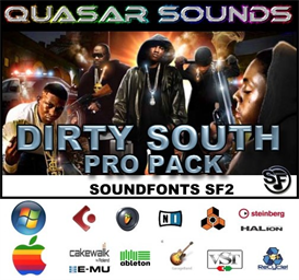 Dirty South Massive Pro Pack 1 - Soundfonts Sf2 | Music | Rap and Hip-Hop