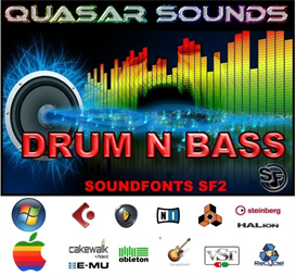 drum n bass - soundfonts sf2