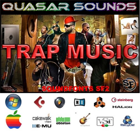 trap music kit - soundfonts sf2