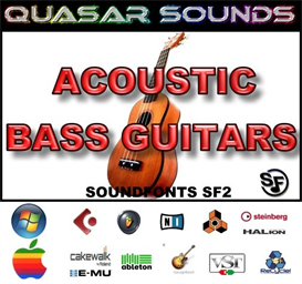 acoustic bass soundfonts instruments