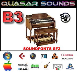 hammond b3 soundfonts instruments
