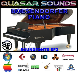 boesendorfer piano soundfont instrument