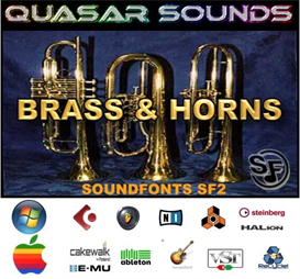 brass & horns soundfonts instruments