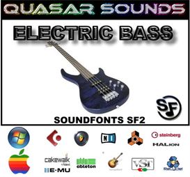 electric bass soundfonts instruments