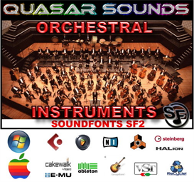 orchestral soundfonts instruments