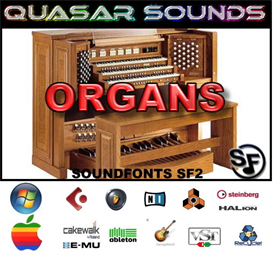 organ soundfonts instruments