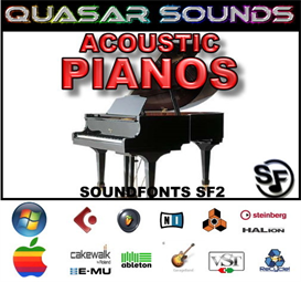 Acoustic Pianos Soundfonts Instruments | Music | Soundbanks