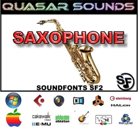 Saxophone Soundfonts Instruments | Music | Soundbanks