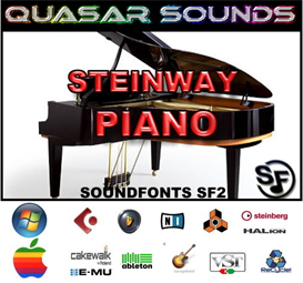 steinway grand piano soundfont instrument