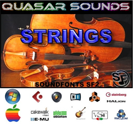 strings soundfonts instruments