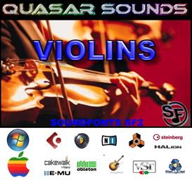violins soundfonts instruments - sf2