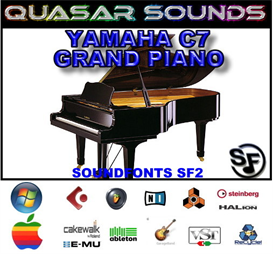 yamaha c7 grand piano soundfont instrument