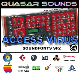 access virus soundfonts instruments
