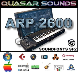 arp 2600 - soundfonts sf2